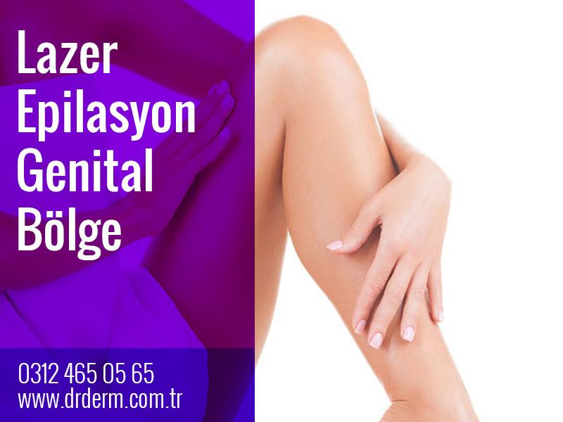 Lazer Epilasyon Genital Bölge